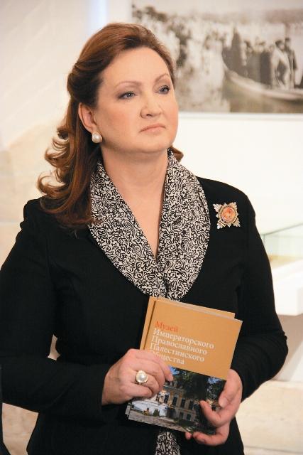 Анна Витальевна Громова – председатель Наблюдательного совета Фонда «Елисаветинско-Сергиевское просветительское общество»