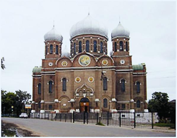 Боголюбский собор в Мичуринске