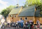В общине строящегося храма много молодежи, которая в свободное время совершает велопоходы