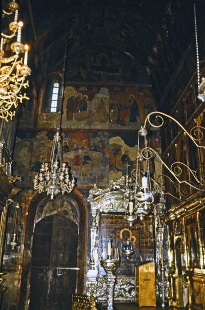 Внутреннее убранство Троицкого собора