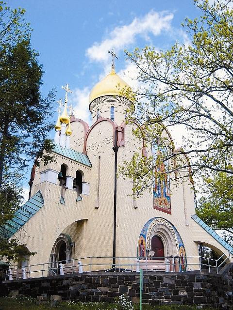 Храм-памятник святому князю Владимиру в г. Джексон,  штат Нью-Йорк