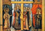 Когда  к умирающей поднесли Крест Спасителя, она  выздоровела