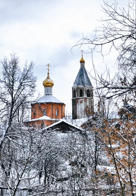 Воскресенская церковь с колокольней