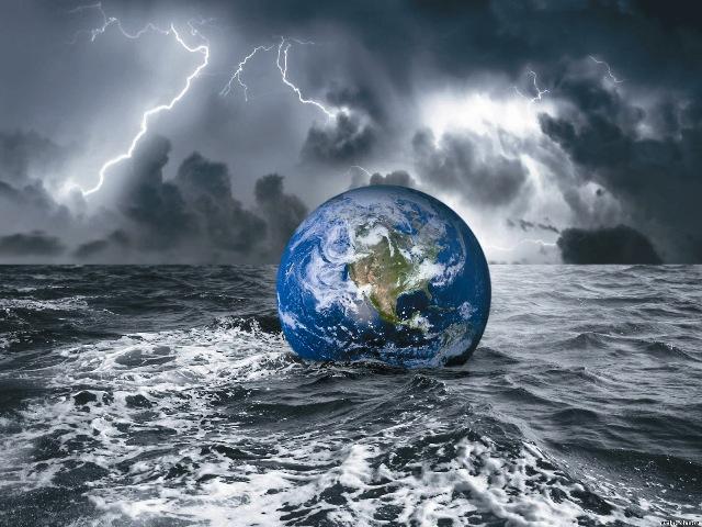 Грех людей настолько распространился наЗемле, настолько растлил и изменил задуманный Богом мир, что спасать было уже нечего.
