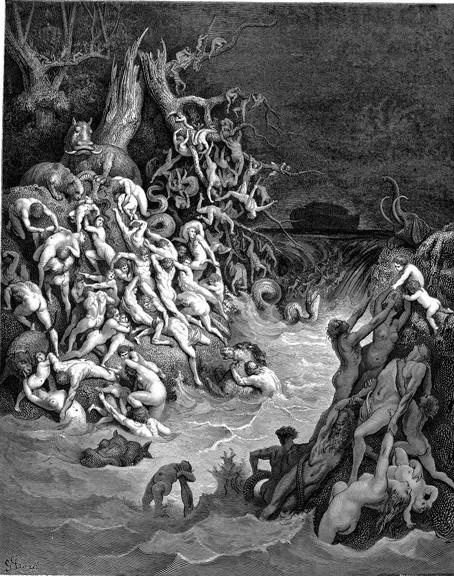 Считается, что отсутствие улюдей только одной добродетели – целомудрия – привело кгибели всего живого наЗемле вводах Всемирного Потопа.