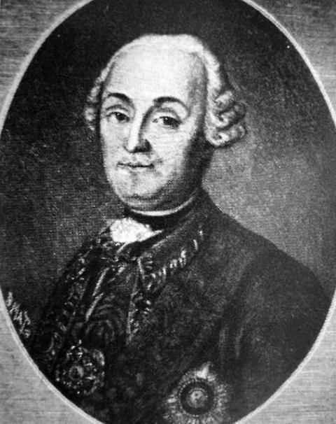 Василий Иванович Суворов, отец великого полководца