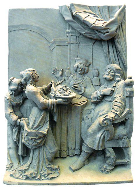 Георг Швайггер. Саломия приносит Ироду голову Иоанна Крестителя