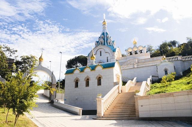 Храм святой вмч. Екатерины в Риме;