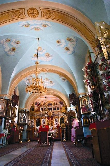 Интерьер Горненского монастыря