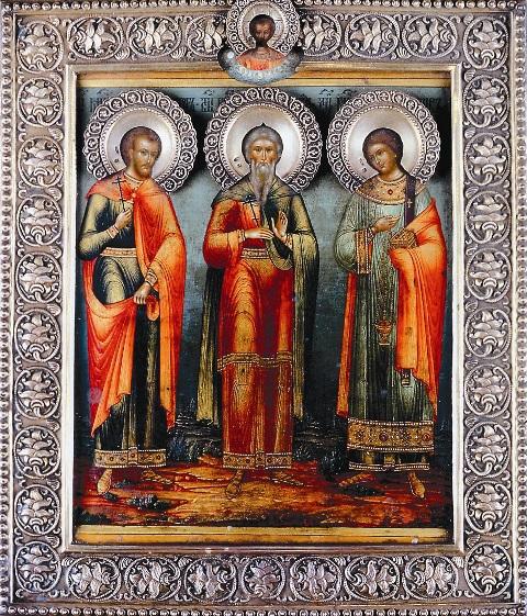 Гурий, Самон и Авив считаются покровителями супружества и счастливой семьи