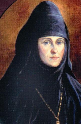 Основательницей Аносина монастыря была игуменья Евгения, в миру княгиня Евдокия Мещерская, тетка известного русского поэта Федора Тютчева