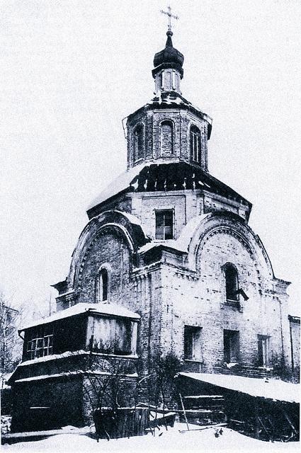 Златоустинский монастырь. Двор перед Благовещенским храмом