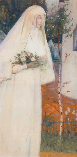 М.В. Нестеров. Преподобномученица великая княгиня Елизавета Федоровна