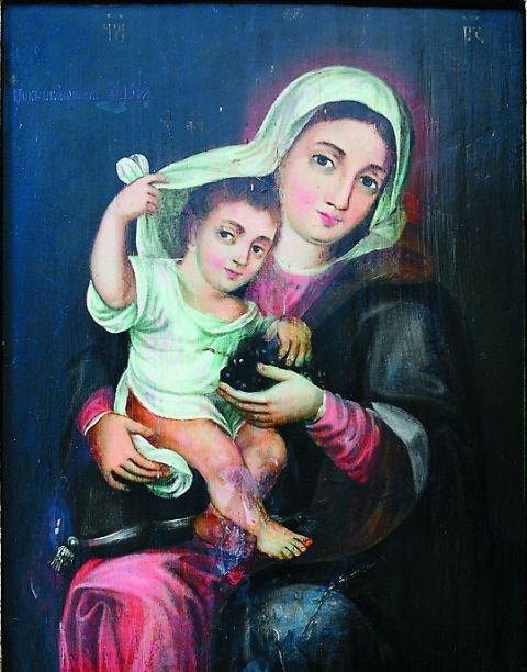 Икона Божией Матери «Покрывающая»