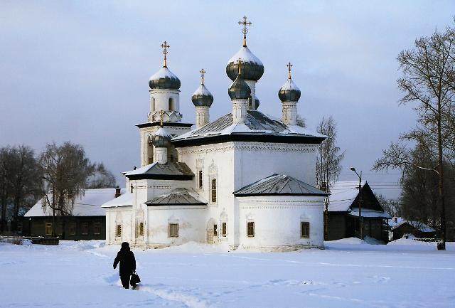 Искусствовед Игорь Грабарь считал Благовещенскую церковь самой красивой на Русском Севере