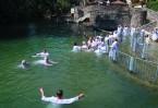 И было в те дни, пришел Иисус из Назарета Галилейского и крестился от Иоанна в Иордане