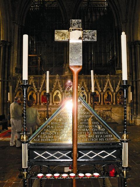 Крест свт. Бирина