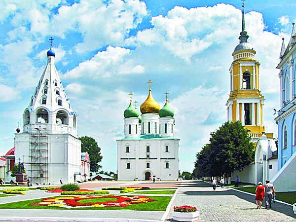 генеральный план благоустройства Соборной площади Коломенского кремля