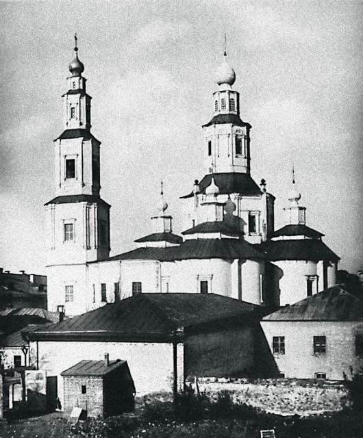 Крестовоздвиженская церковь бывшего Крестовоздвиженского монастыря