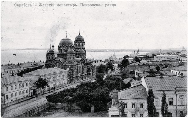 Крестовоздвиженский монастырь. Фото начала ХХ века.