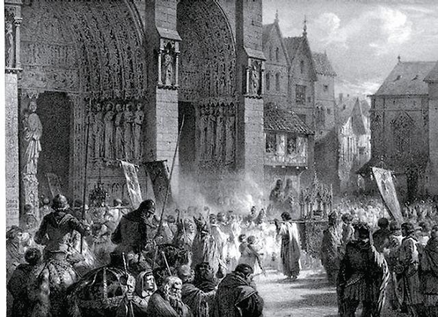 Людовик IX заплатил банку за Терновый венец Христов 135 тысяч ливров — половину годового бюджета Франции