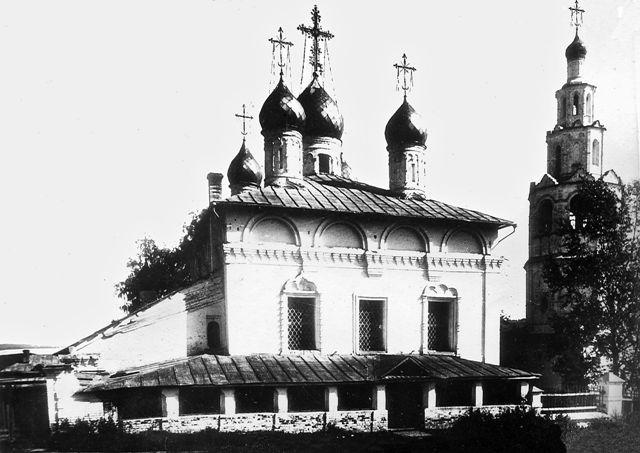 Монастырь был основан предположительно в 1584 году