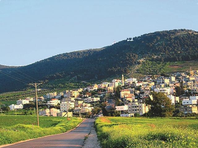 Наин – маленький город в Галилее, существующий и в наши дни под названием Неин. Расположен недалеко от Капернаума на северном склоне горы Дахи или Ма- лого Гермона на юге от горы Фавор. Это небольшое селе- ние с разбросанными вокруг развалинами, несколькими пещерами в скалах и небольшой мечетью