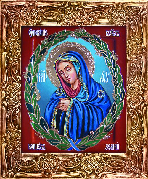 Образ Богородицы дважды закрашивали, когда делали ремонт, однако белила каждый раз осыпались, и проявлялся Ее лик