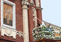 Освящение иконы Патриархом Кириллом
