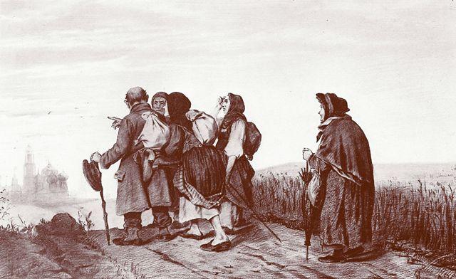 При императрице Елизавете Петровне Раево стало приютом для паломников на пути богомольного шествия из Москвы в Лавру