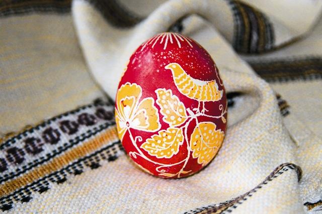 Такое яйцо - настоящее произведение искусства