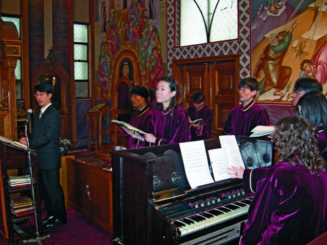 Православные южнокорейцы так или иначе связаны с русским бизнесом, с русской культурой