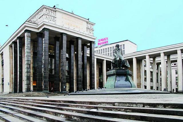 Российская государственная библиотека на месте снесенного храма