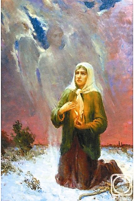 Смерть мужа потрясла молодую женщину, но более всего ей не давало покоя, что скончался раб Божий Андрей без покаяния и причастия. Ксения решила вымолить у Бога прощение его непокаянной душе, приняв на себя подвиг юродства