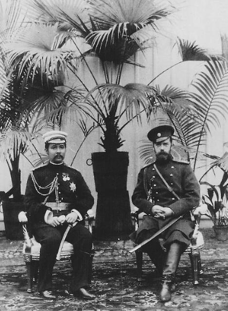 Сиамский принц Дамронг и русский царь Николай II