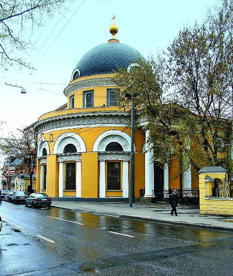 Скорбященский храм на Большой Ордынке