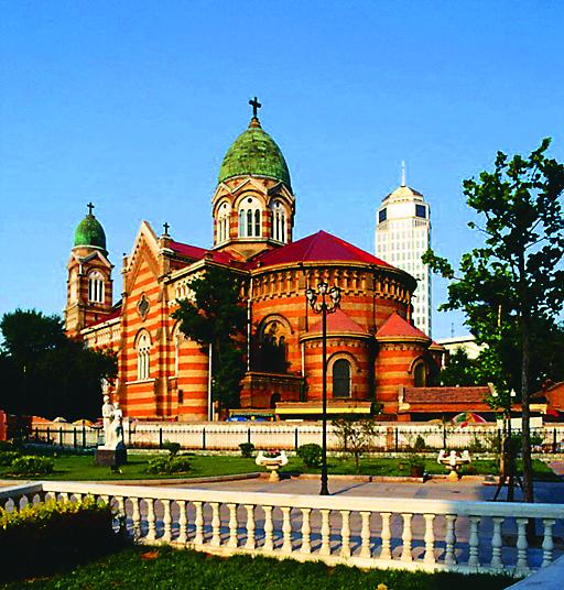 Православный собор в городе Тяньцзинь