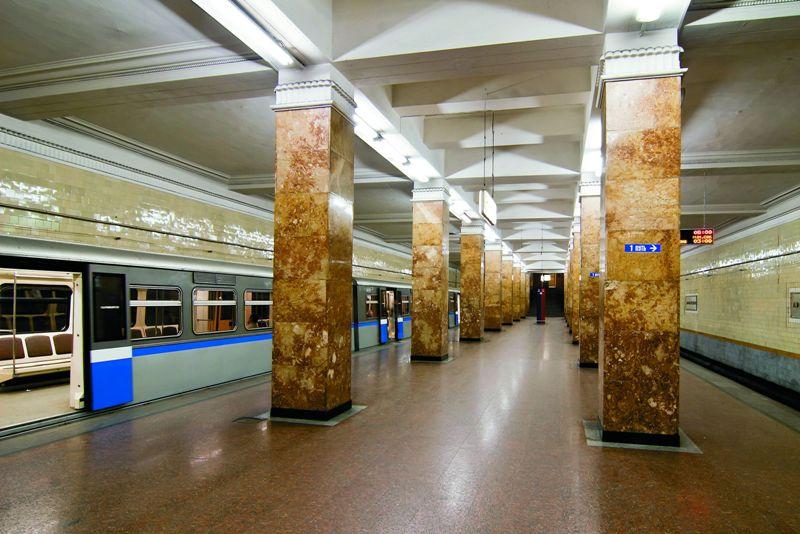 Стало: Станция Арбатская Филевской линии
