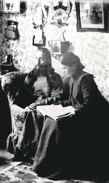 Отец Митрофан с супругой Ольгой Владимировной