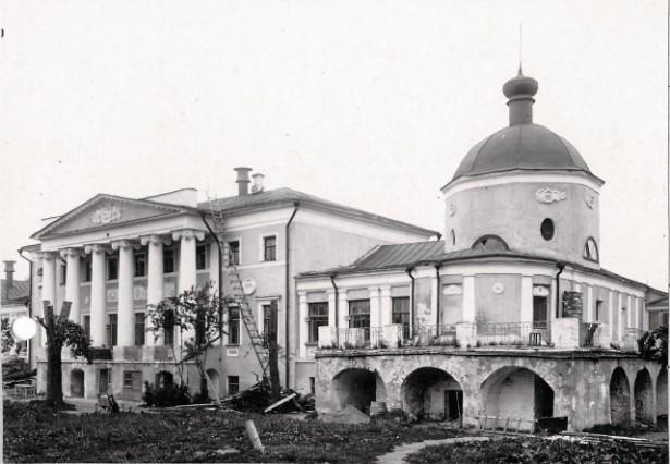 Усадьба Хитрово, Смоленская домовая церковь. Было