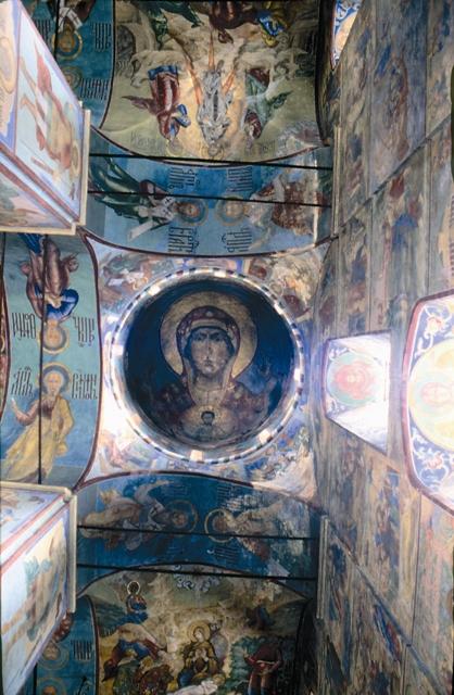 Росписи Учпенского собора