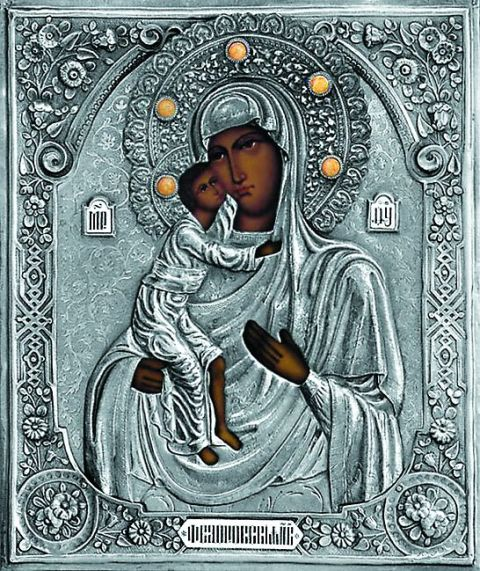 Феодоровской иконой благоверного князя Александра Невского благословили на брак с полоцкой княжной Александрой, получившей в крещении имя Параскевы – святой покрови тельницы свадеб и невест