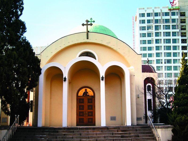 Храм Святителя Николая, город Сеул