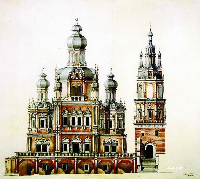 Церковь Успения Божией Матери на Покровке