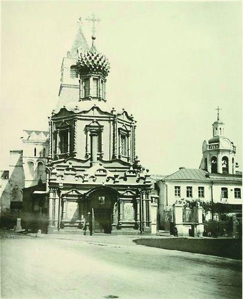 Храм на станции Лубянка