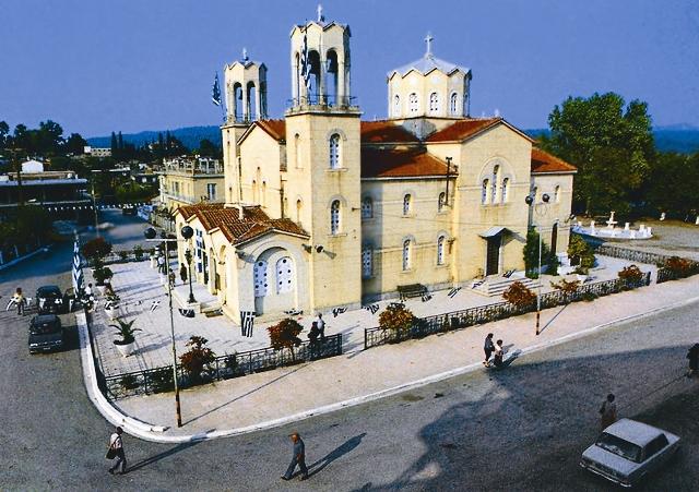 Храм св. Иоанна Русского в Нео Прокопио