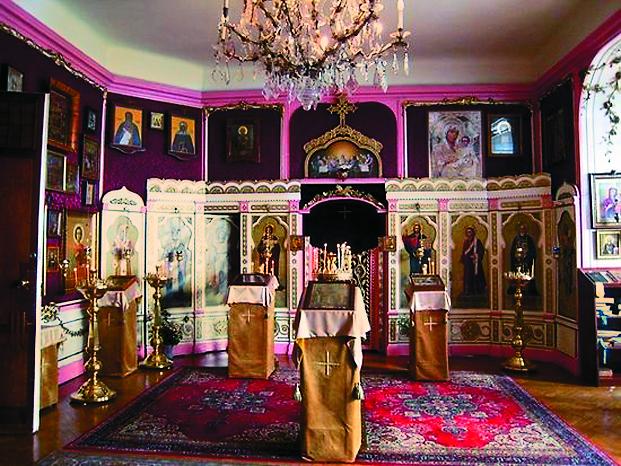 Храм преподобного Сергия Радонежского в Будапеште. Интерьер