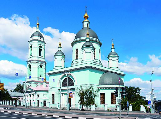 Храм в Рогожской слободе (ул. Николоямская, д. 59)