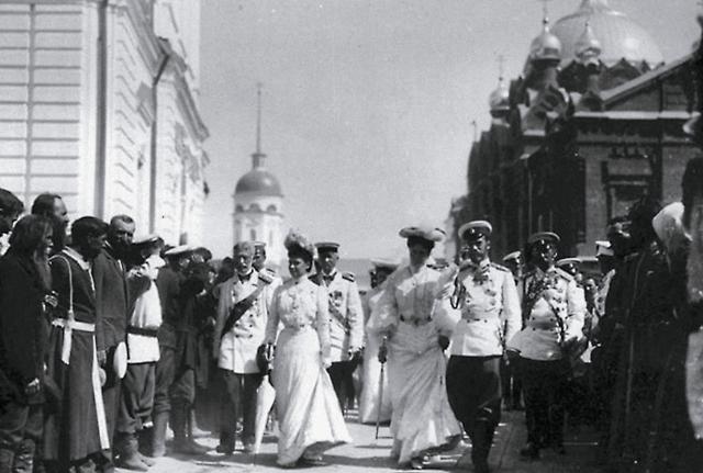 Саровские торжества, 1903 год.