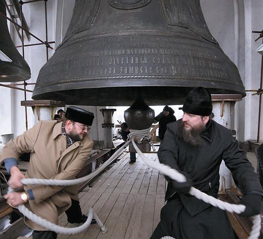 Самый большой колокол Лавры